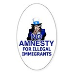 Amnesty Oval Sticker