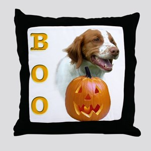 Brittany Boo Throw Pillow