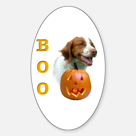 Brittany Boo Oval Decal