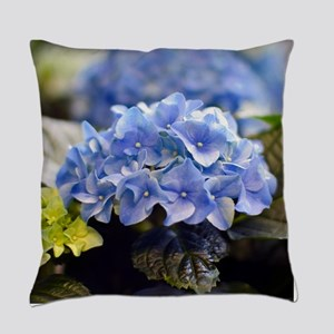 Blue Hortensia Master Pillow