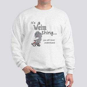 Weim Thing Sweatshirt