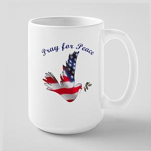 Pray for Peace Large Mug