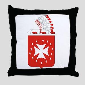 14th Field Artillery Throw Pillow