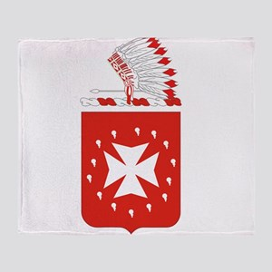 14th Field Artillery Throw Blanket
