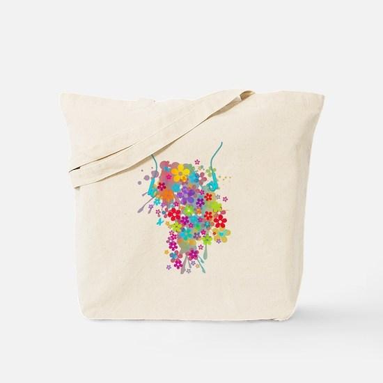 Earphones Tote Bag