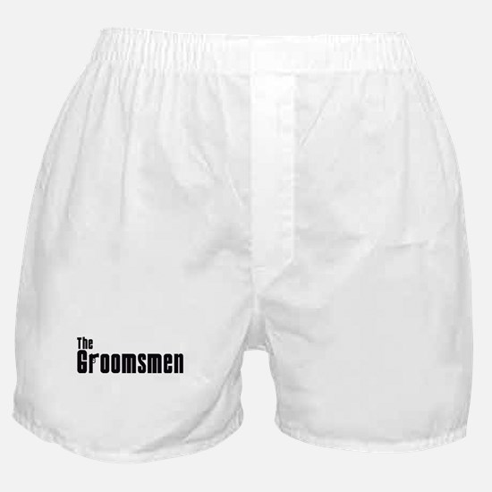 The Groomsmen (Mafia) Boxer Shorts