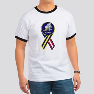 seabees_navy_patch T-Shirt