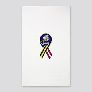 seabees_navy_patch 3'x5' Area Rug