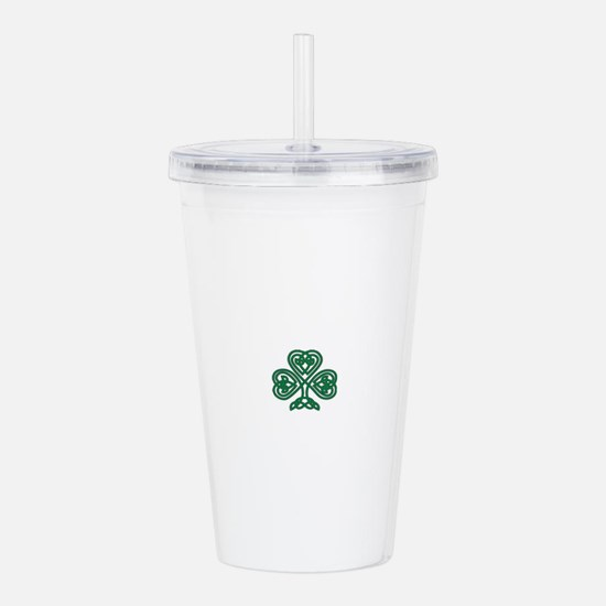 Celtic Shamrock Acrylic Double-wall Tumbler
