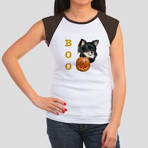 Chihuahuas Boo Women's Cap Sleeve T-Shirt