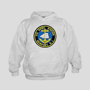 NEWPORT US Naval Station Rhode Island Kids Hoodie