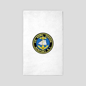 NEWPORT US Naval Station Rhode Isla 3'x5' Area Rug