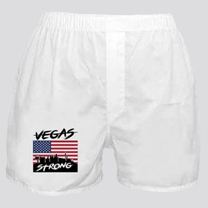 Vegas Strong American Flag Boxer Shorts