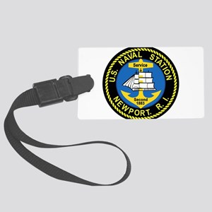NEWPORT US Naval Station Rhode I Large Luggage Tag