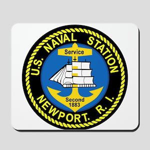 NEWPORT US Naval Station Rhode Island Mi Mousepad