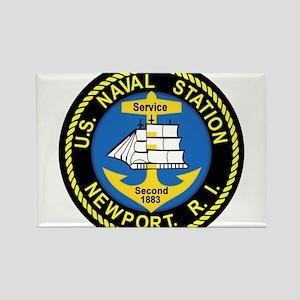NEWPORT US Naval Station Rhode Island Mili Magnets