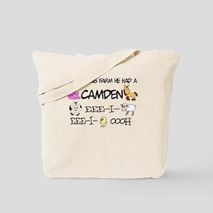 Camden had a Farm Tote Bag