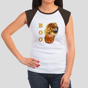 Chow Chow Boo Women's Cap Sleeve T-Shirt