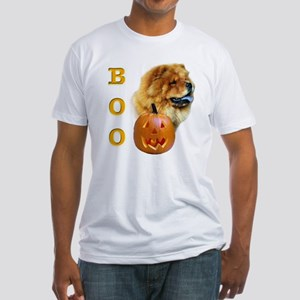 Chow Chow Boo Fitted T-Shirt