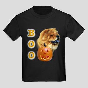 Chow Chow Boo Kids Dark T-Shirt