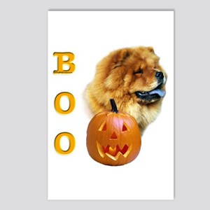 Chow Chow Boo Postcards (Package of 8)