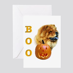 Chow Chow Boo Greeting Cards (Pk of 10)
