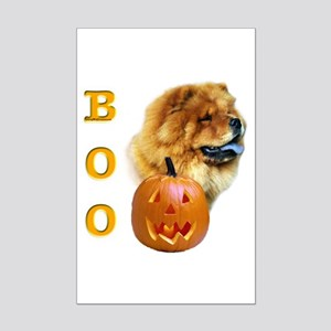 Chow Chow Boo Mini Poster Print