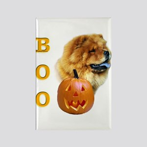 Chow Chow Boo Rectangle Magnet