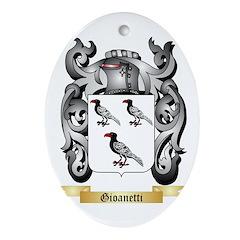 Gioanetti Ornament (Oval)