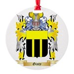 Ginty Round Ornament