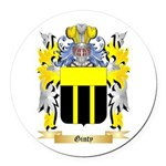Ginty Round Car Magnet