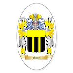 Ginty Sticker (Oval 50 pk)