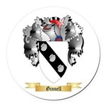 Ginnell Round Car Magnet