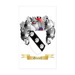 Ginnell Sticker (Rectangle 50 pk)