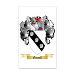 Ginnell 35x21 Wall Decal