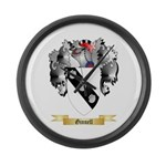 Ginnell Large Wall Clock