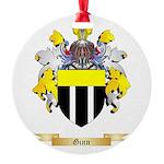 Ginn Round Ornament