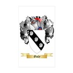 Ginly Sticker (Rectangle 50 pk)