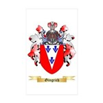 Gingrich Sticker (Rectangle 50 pk)