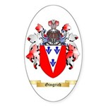 Gingrich Sticker (Oval)