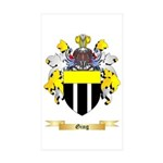 Ging Sticker (Rectangle 50 pk)