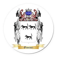 Giminez Round Car Magnet