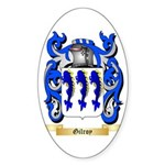 Gilroy Sticker (Oval 50 pk)