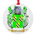 Gilquin Round Ornament