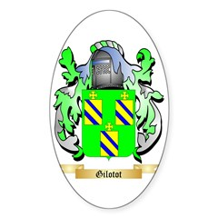 Gilotot Sticker (Oval 10 pk)