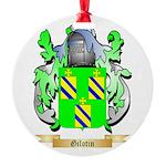 Gilotin Round Ornament