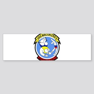 ZRS-5 USS MACON US NAVY Airship for Bumper Sticker