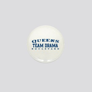 Team Drama - Queens Blvd Mini Button