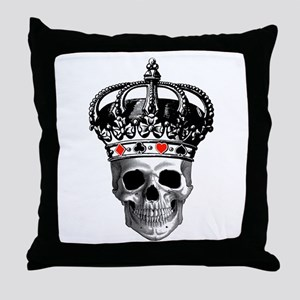 Gambling King Throw Pillow