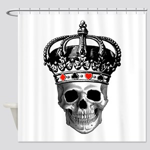 Gambling King Shower Curtain